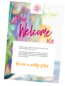 the welcome kit