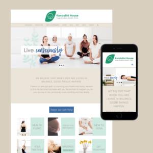kundalini house website design melbourne
