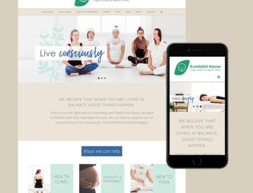 Kundalini House Website Design